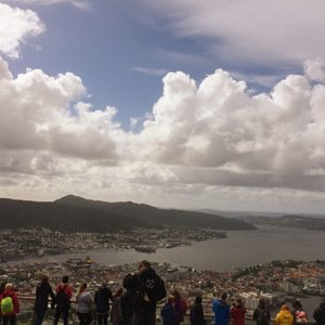 Bergen Cityscape