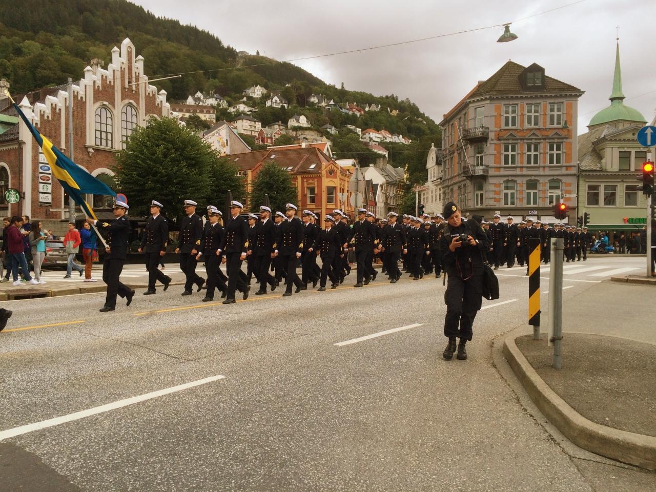 Bergen Bryggen March