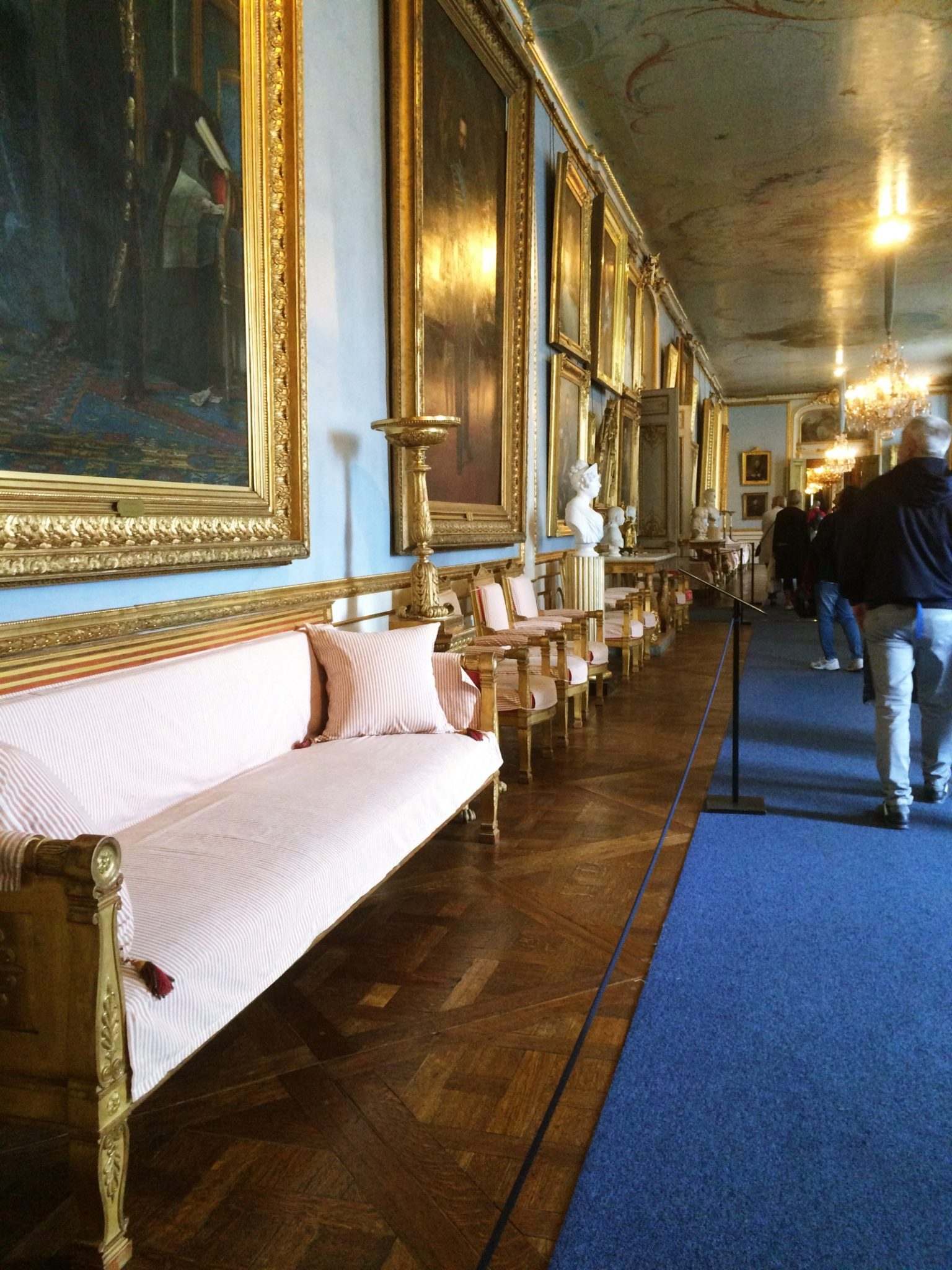 Blue Carpet Stockholm Royal Palace