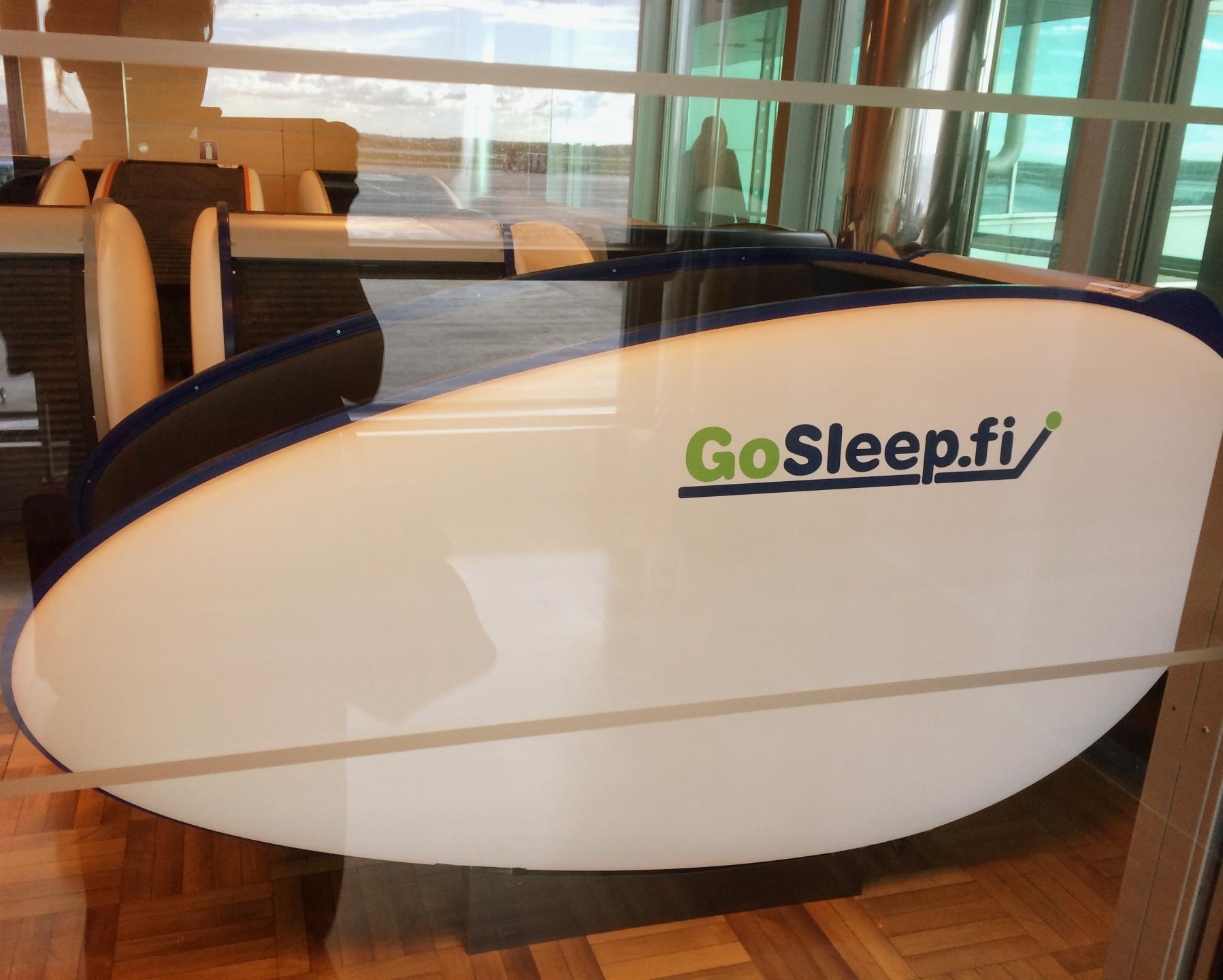 Helsinki Airport Sleeping Capsules