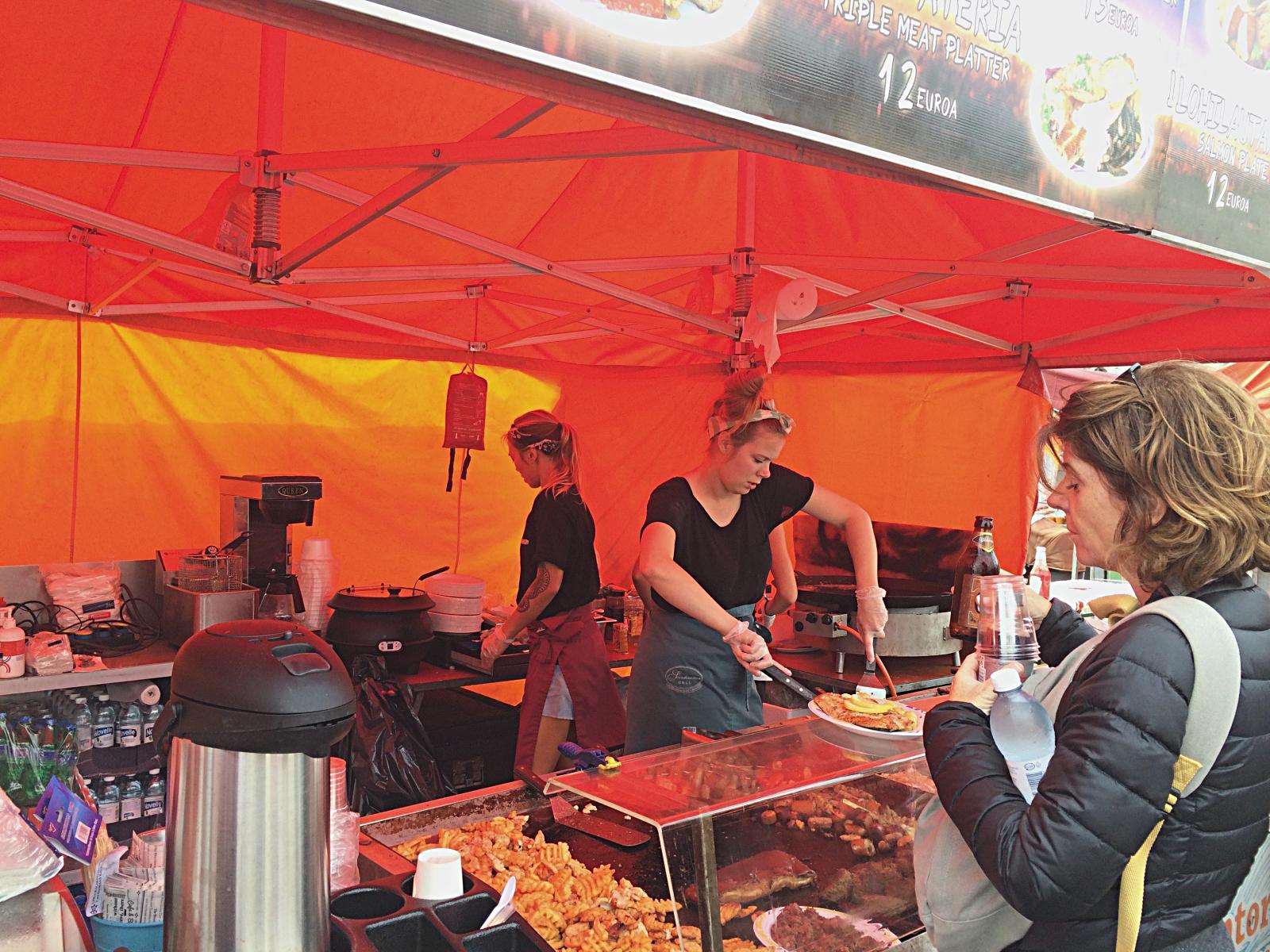 Helsinki Market Square Fish & Chips