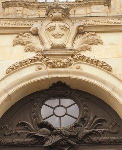 Stockholm Royal Palace Entrance