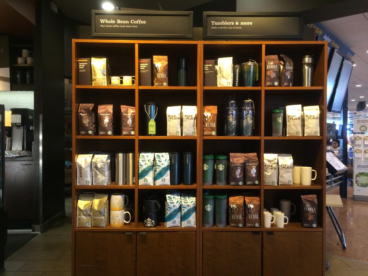 Starbucks at Stockholm Airport