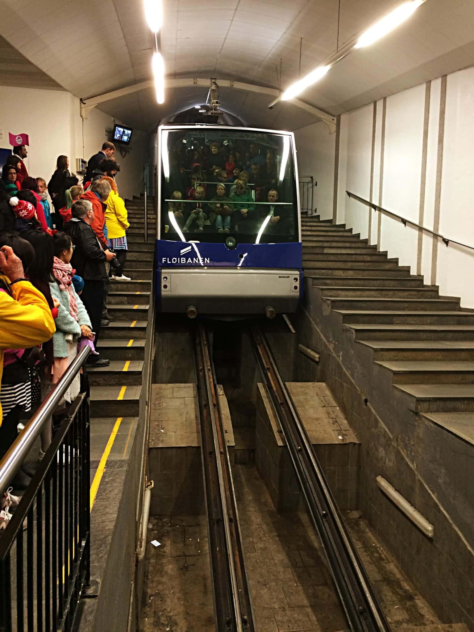 Bergen Funicular Tram