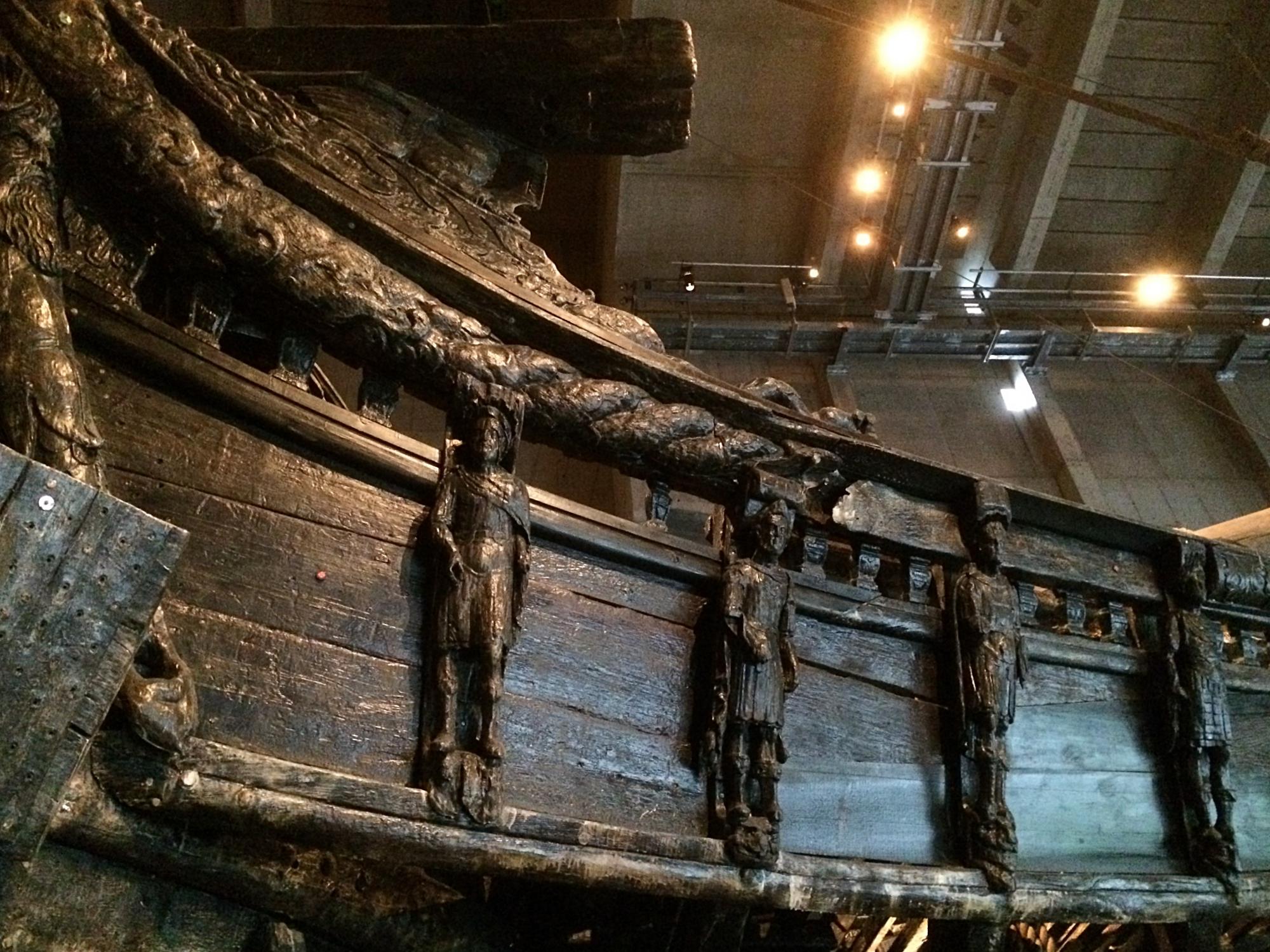 Vasa Ship Ornamentation