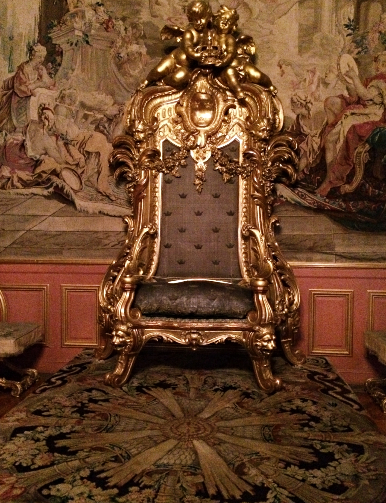 Silver Throne Stockholm Royal Palace