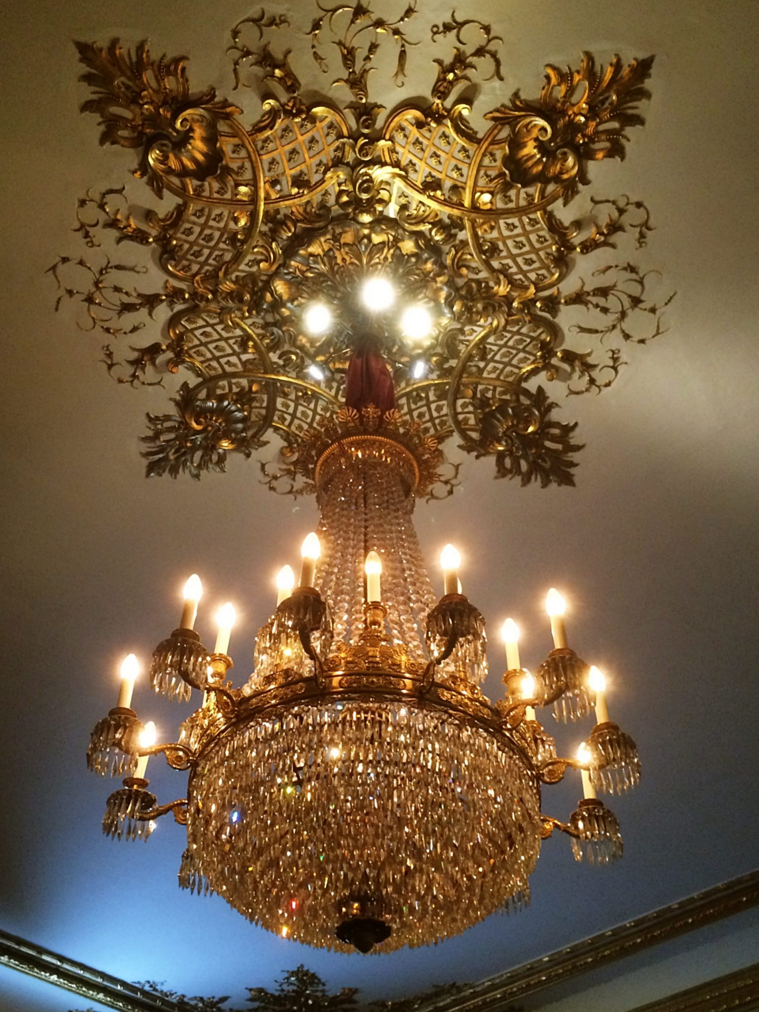 Stockholm Royal Palace Chandelier
