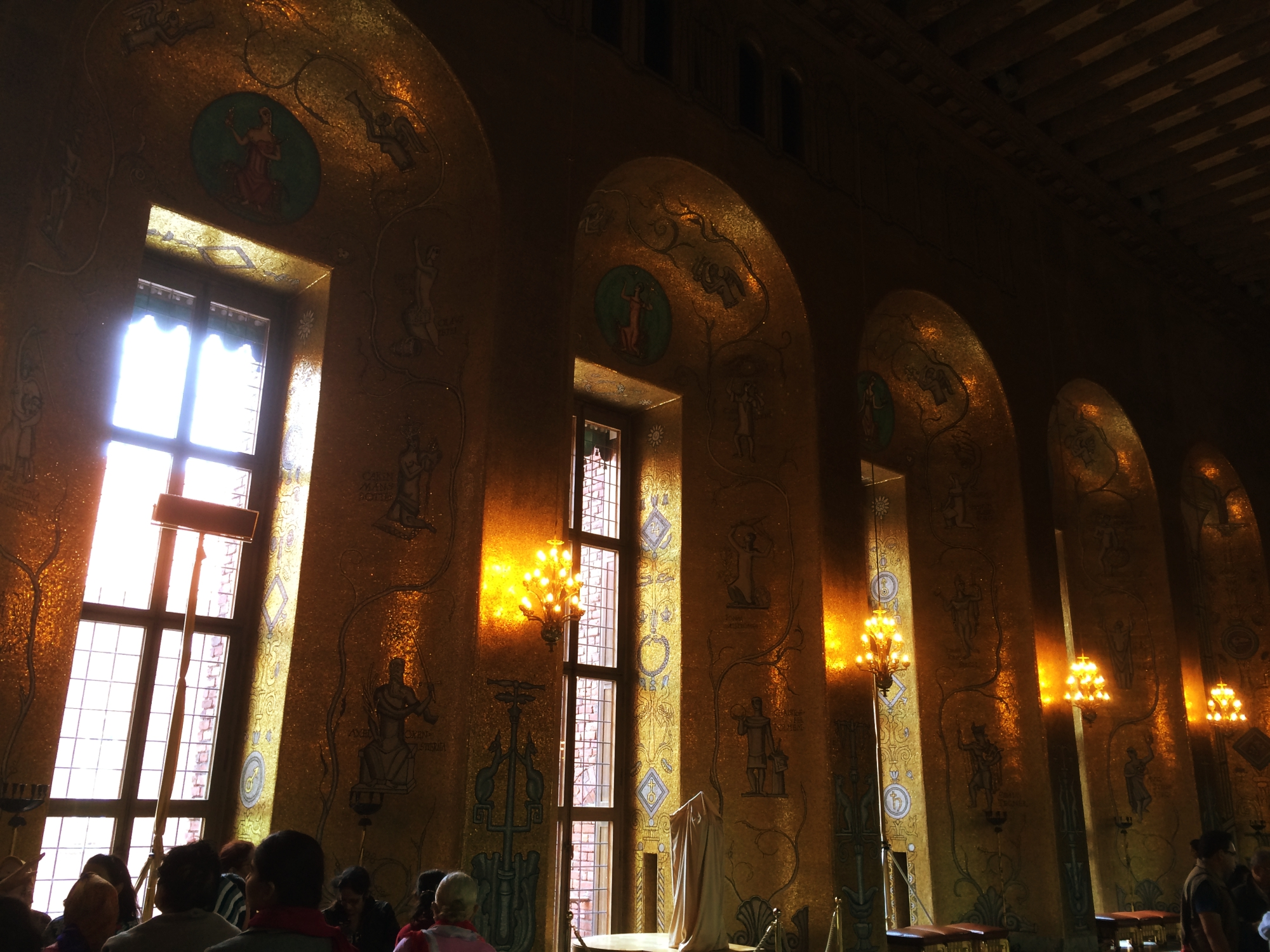 The Golden Hall Stockholm Town Hall