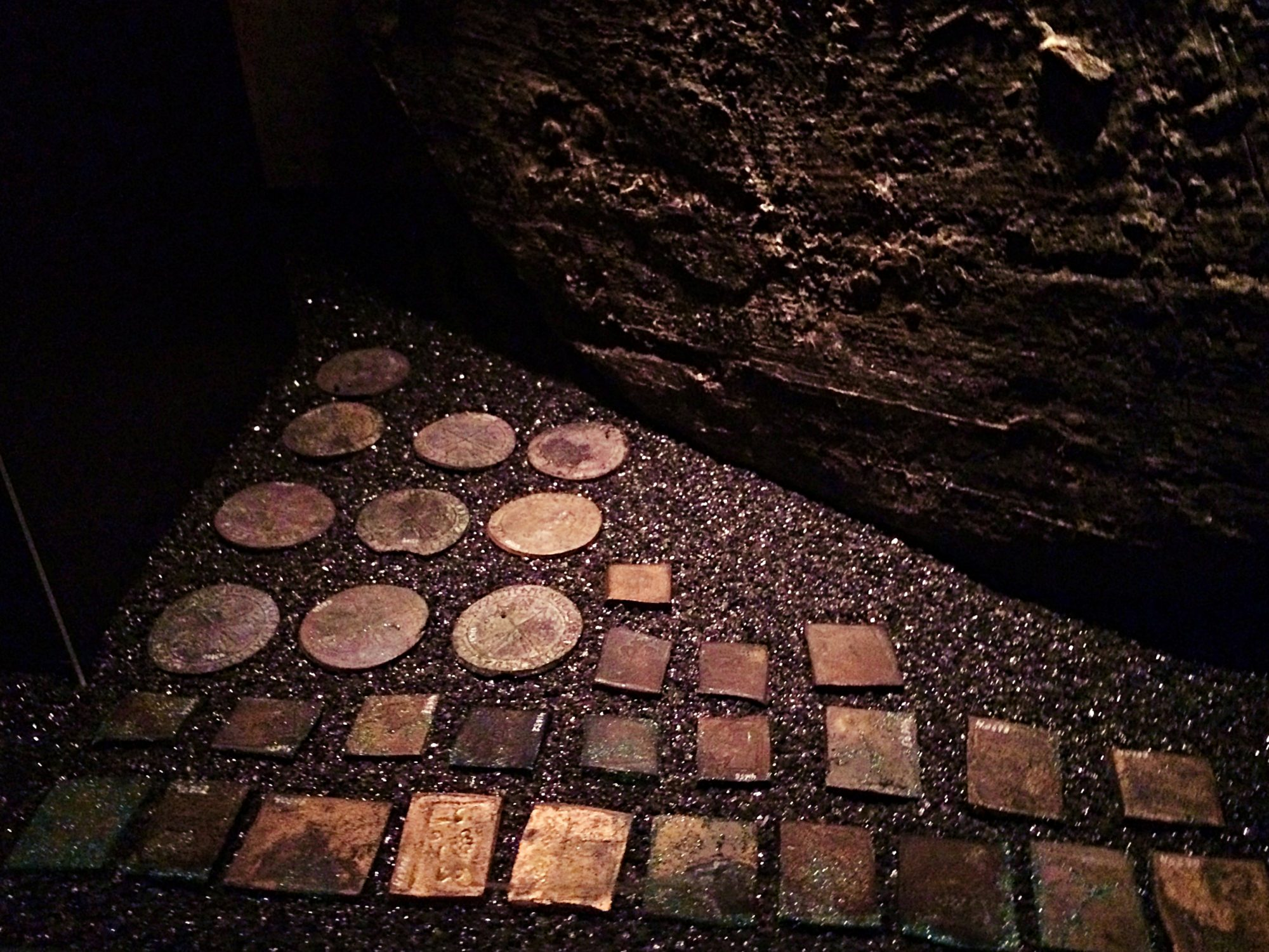 Vasa Museum Recovered Coins