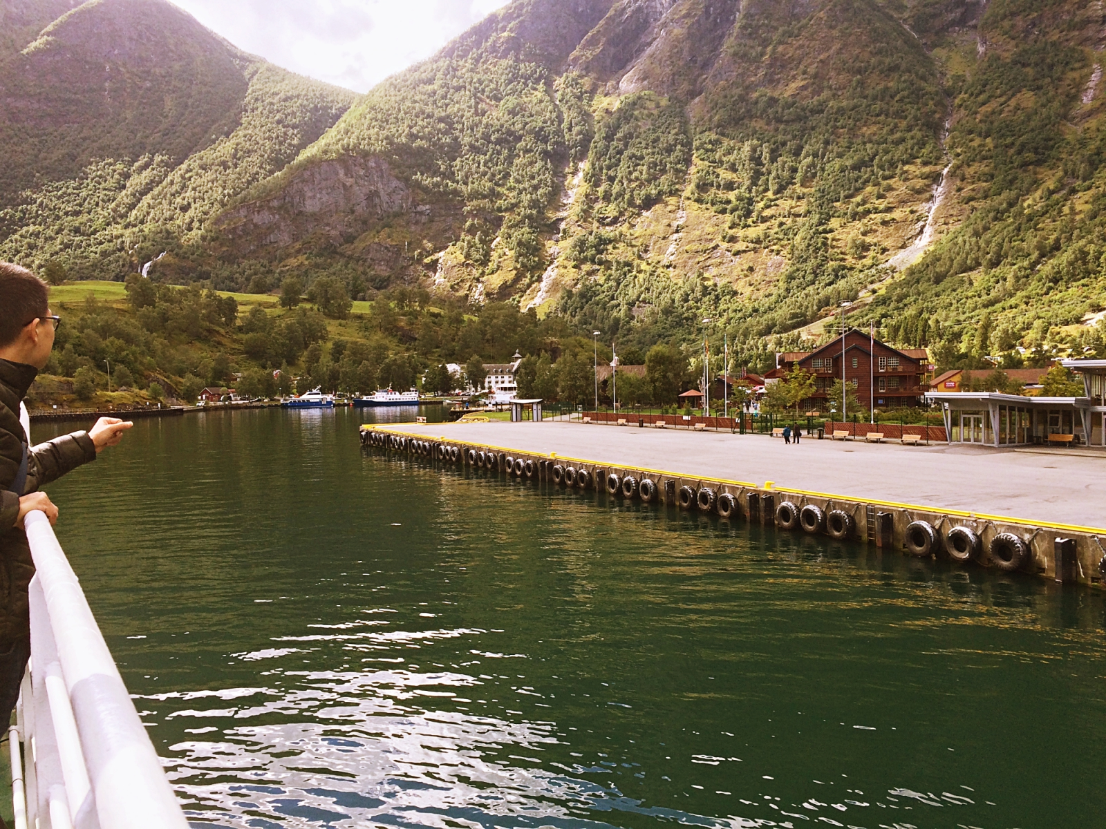 Arriving at Flam