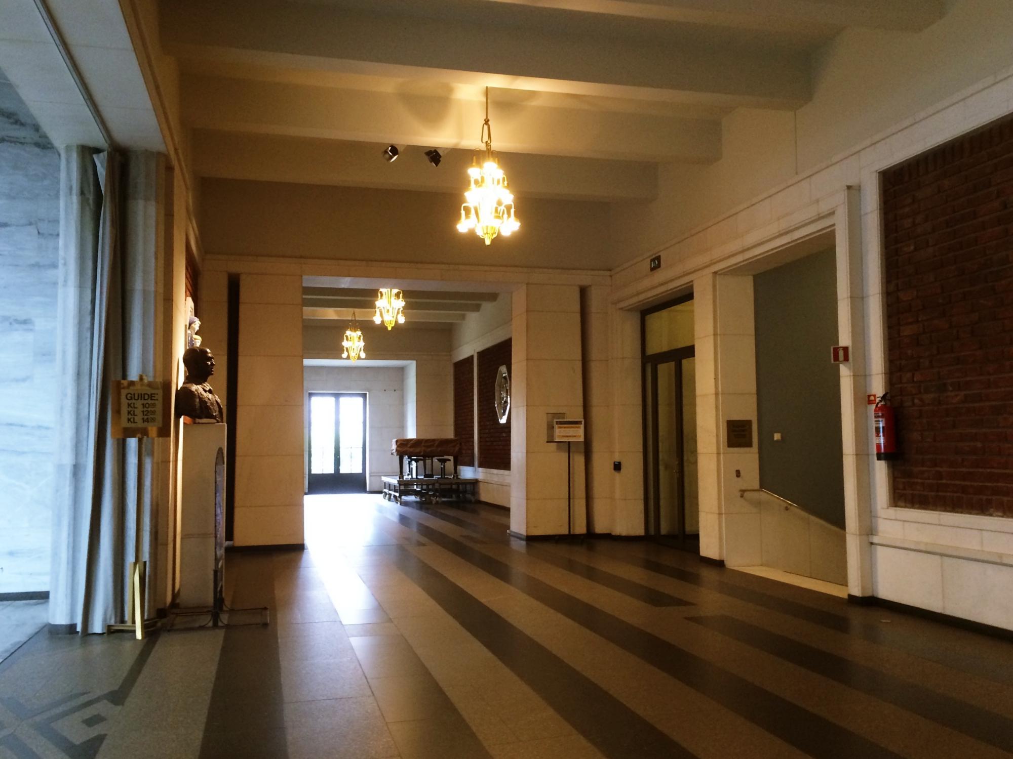 Oslo City Hall Entrance Lobby
