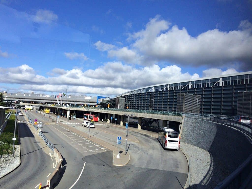 Arlanda Airport Entryway