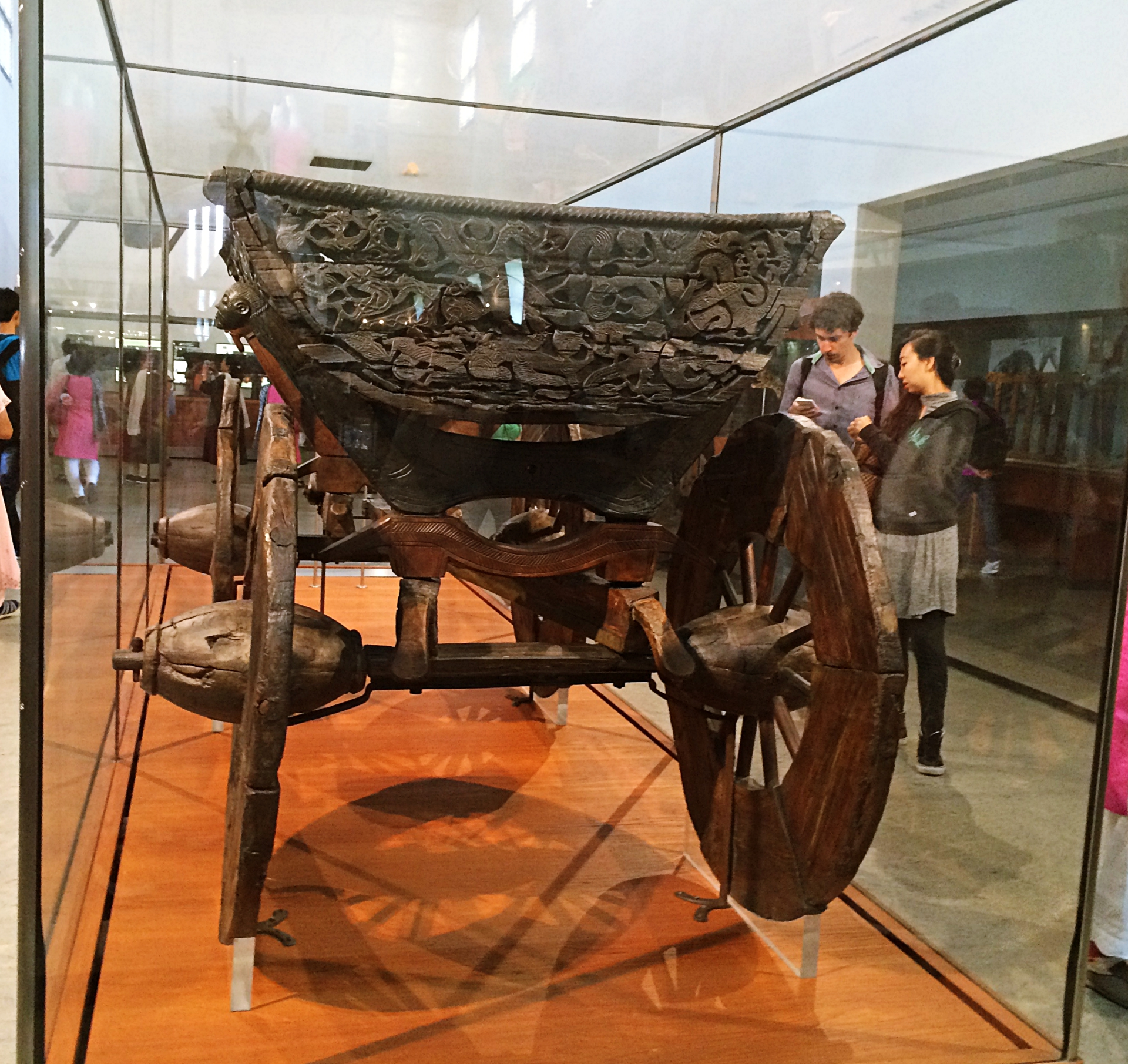 Excavated Cart Viking Ship Museum
