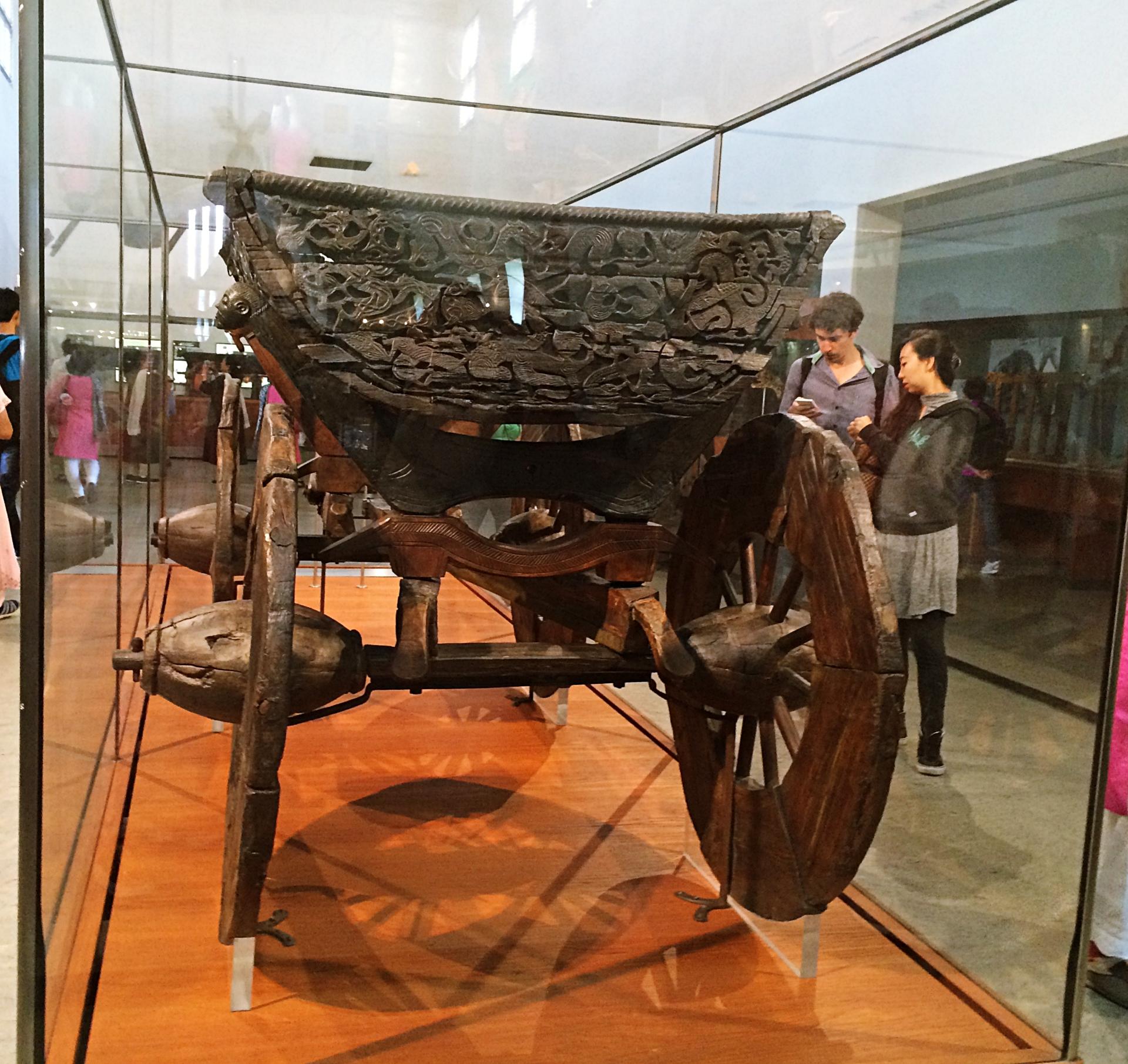 Excavated Cart Viking Ship Museum