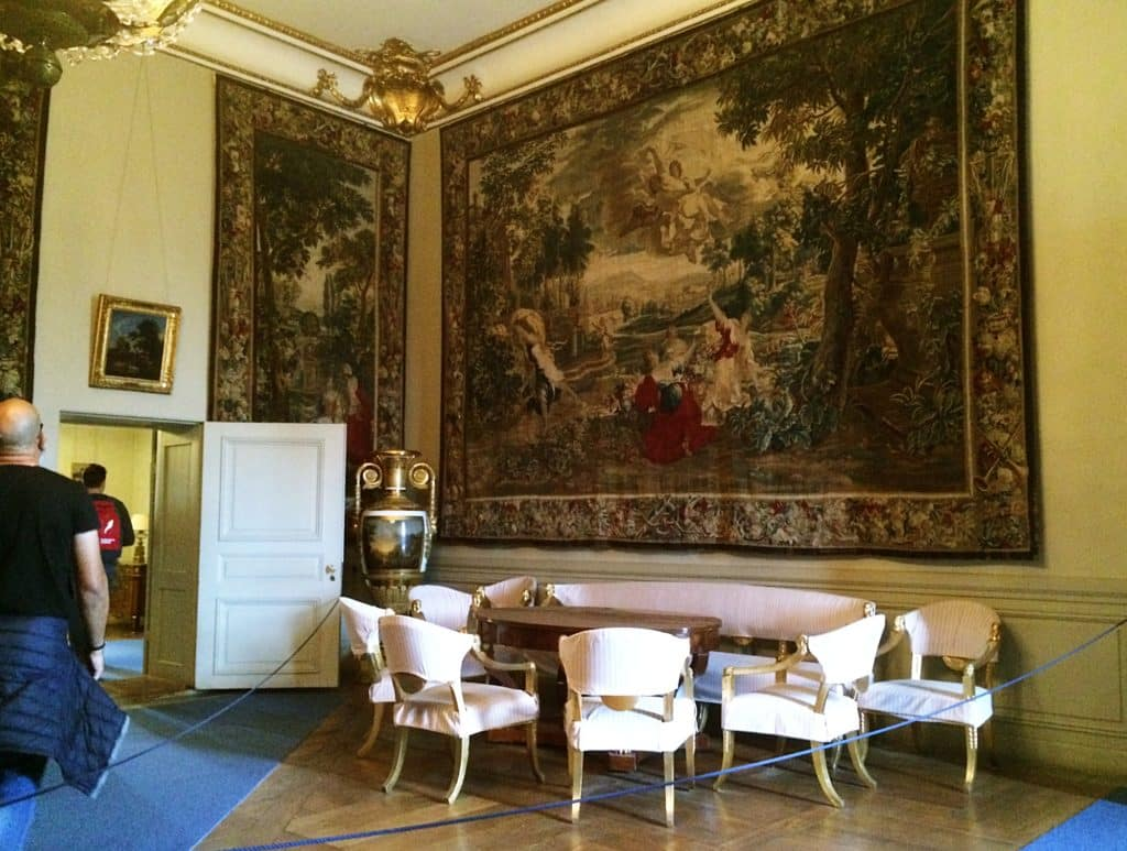 Experiencing the swedish antiquity at stockholm royal palace inside stockholm royal palace