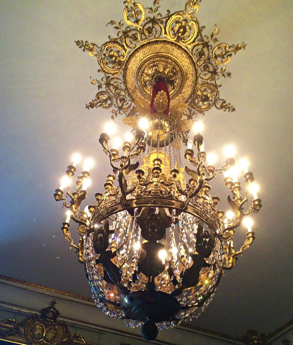 Stockholm Royal Palace Chandeliers