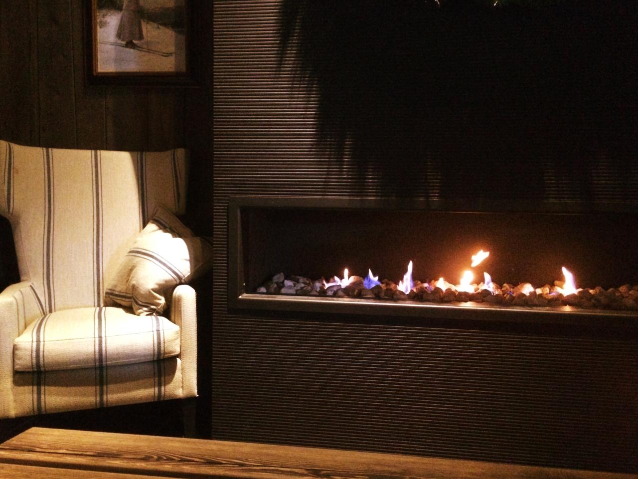 Vestlia Resort Fireplace Seating