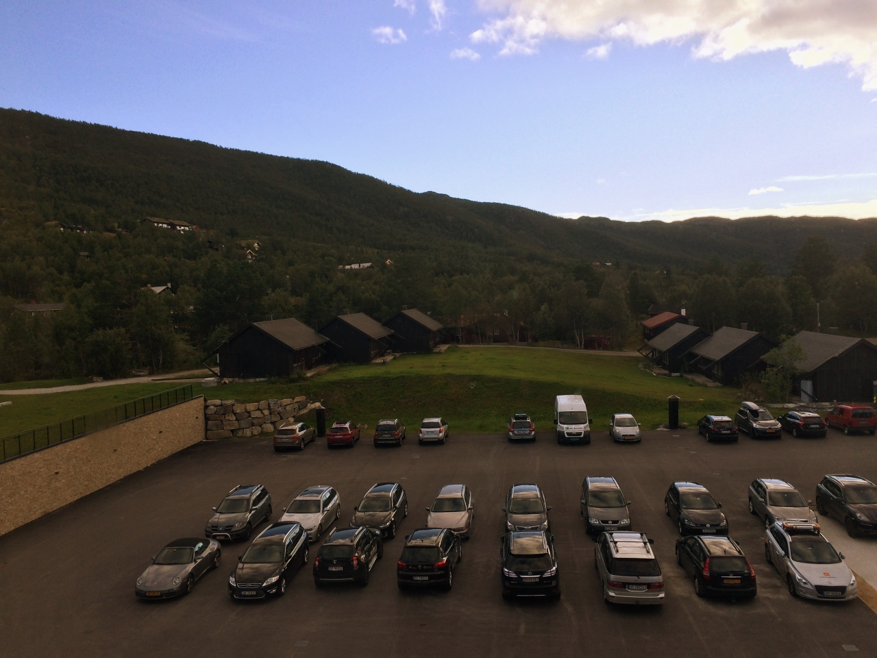 Vestlia Resort Parking View