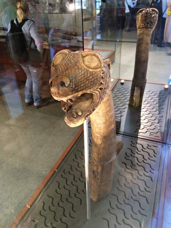 Viking Ship Museum Animal head