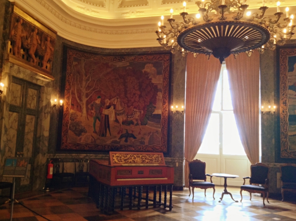 Christiansborg Palace Queen Tapestries