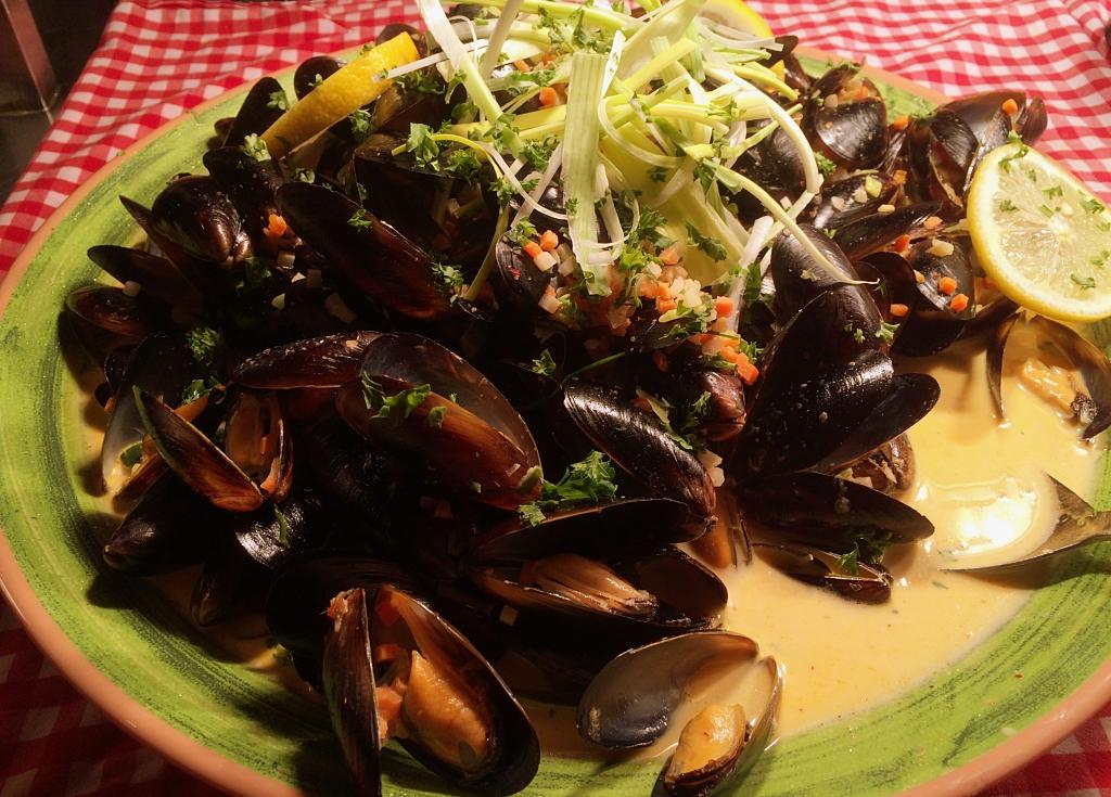 Copenhagen Mussels