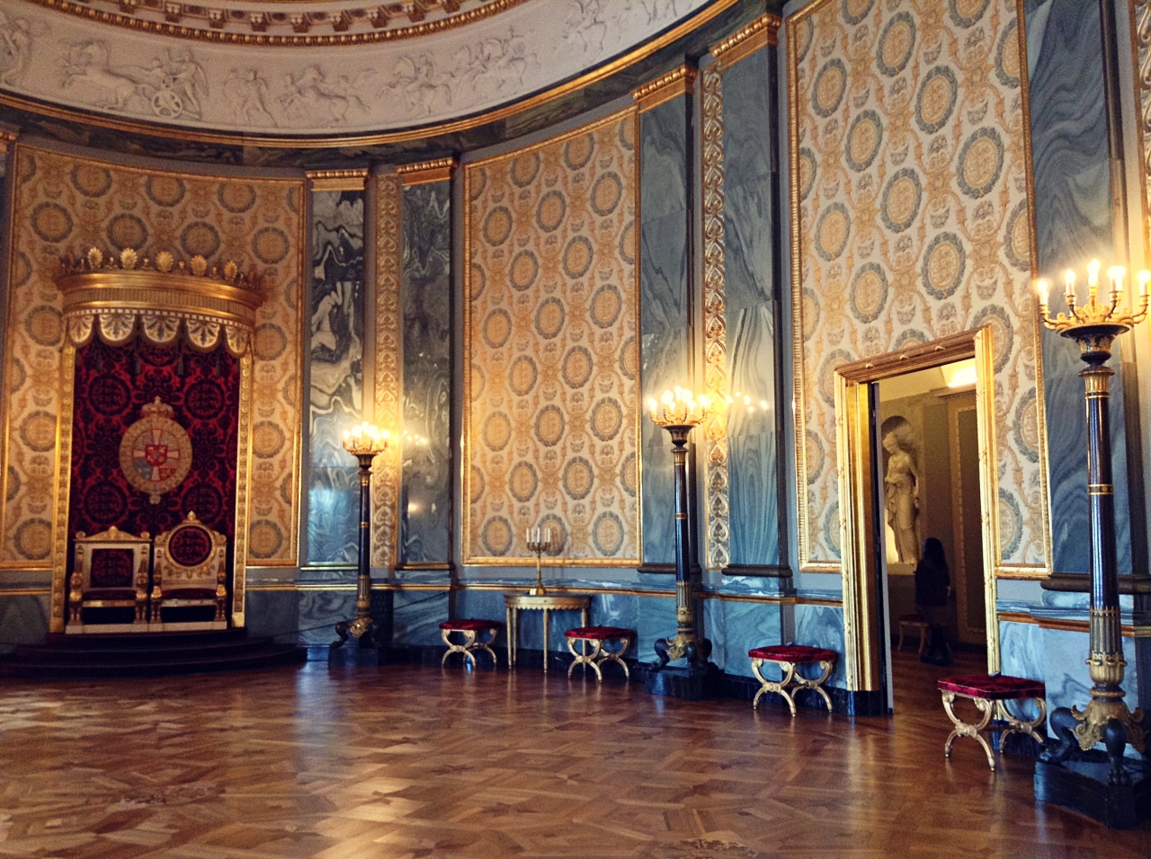 Denmark Amalienborg Royal Throne
