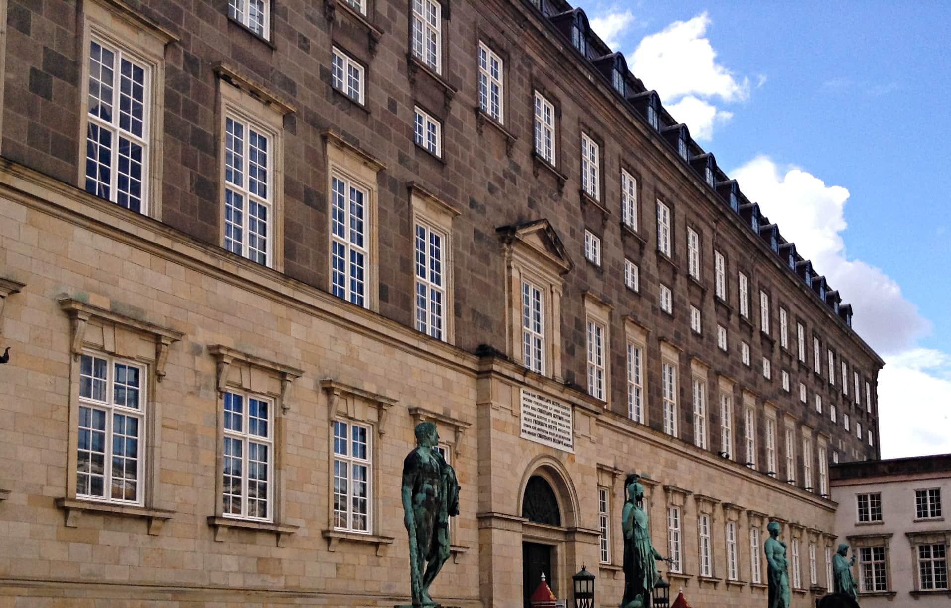 Copenhagen Christiansborg Palace