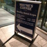 Waynes Coffee Quality Hotel Expo
