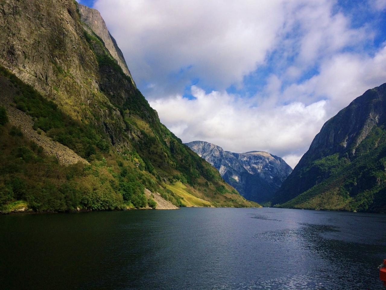 Towards Bakka Village Norway