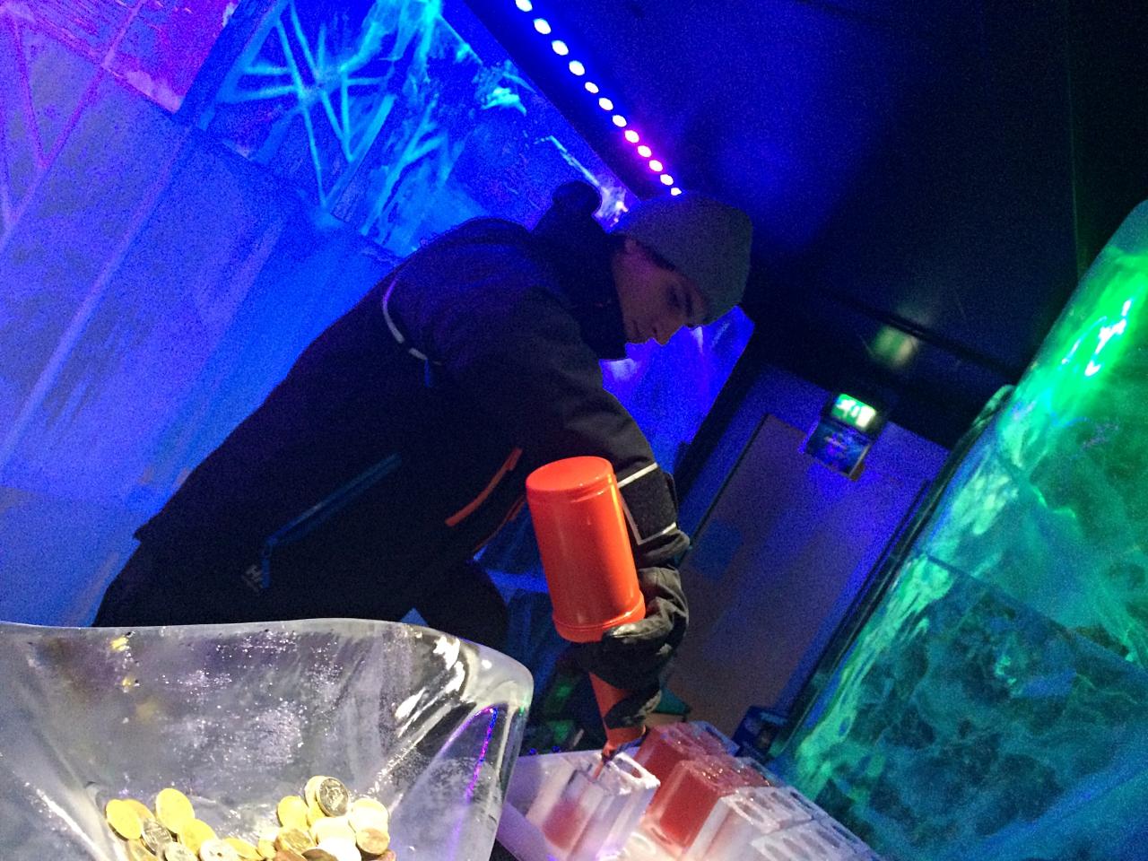 Absolut Ice Bar Mixologist