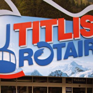 Mount Titlis Ticket Counter