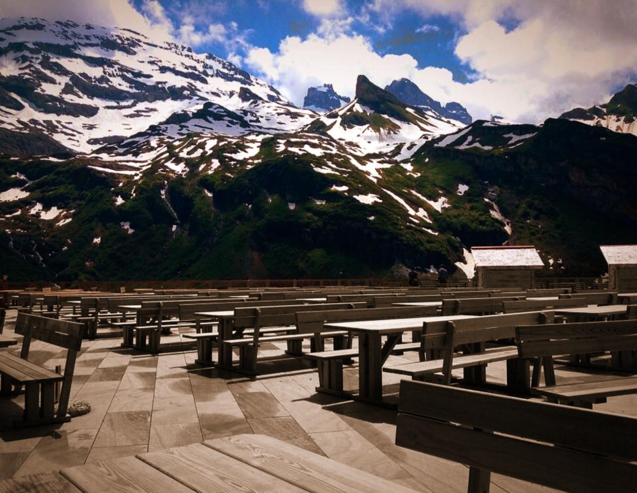Switzerland Titlis View