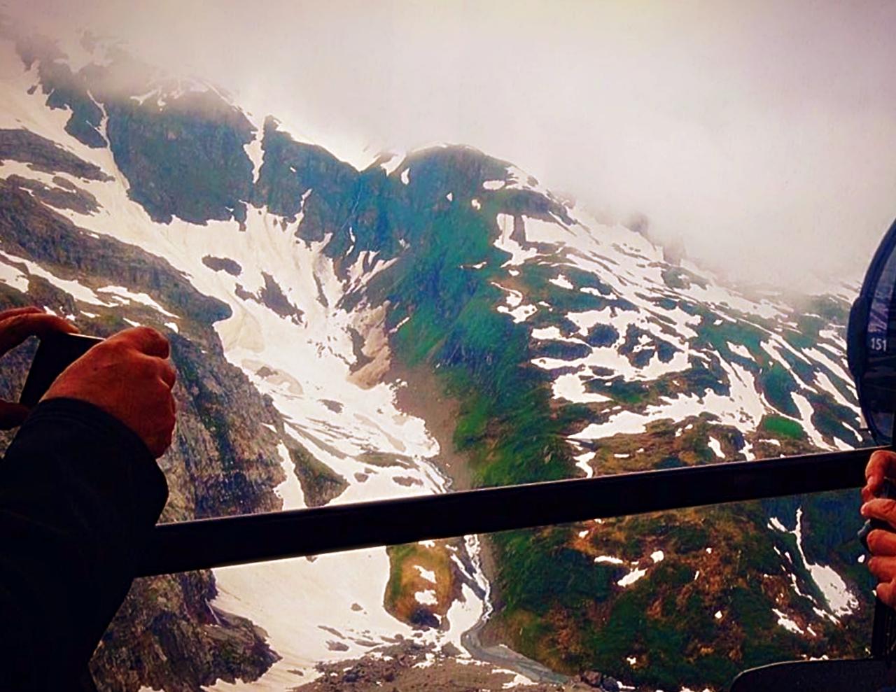 Switzerland Snow Peaks