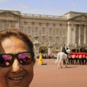 Visiting Buckingham Palace