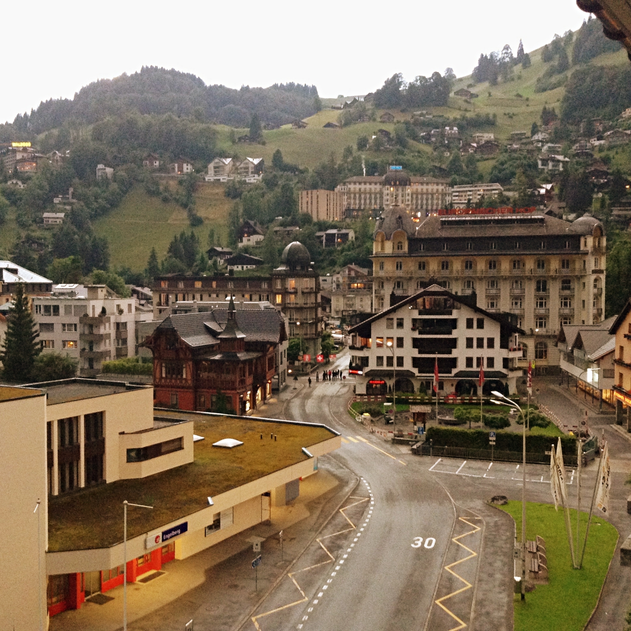Bellevue Terminus Switzerland View