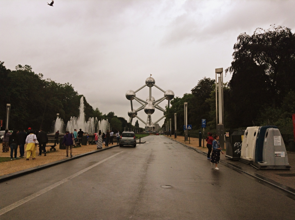 Atomium Brussels From Distance