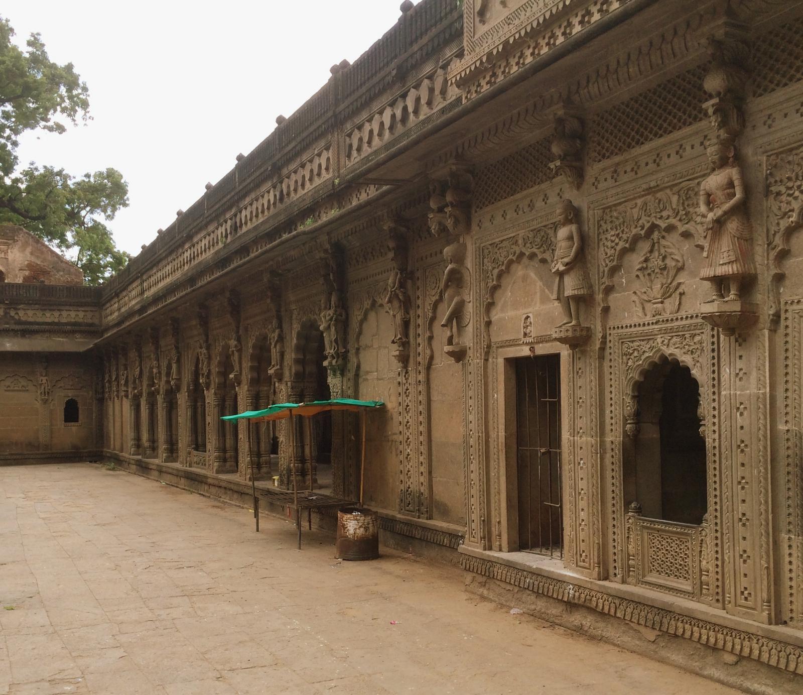 Ahilya Fort Wall Carvings