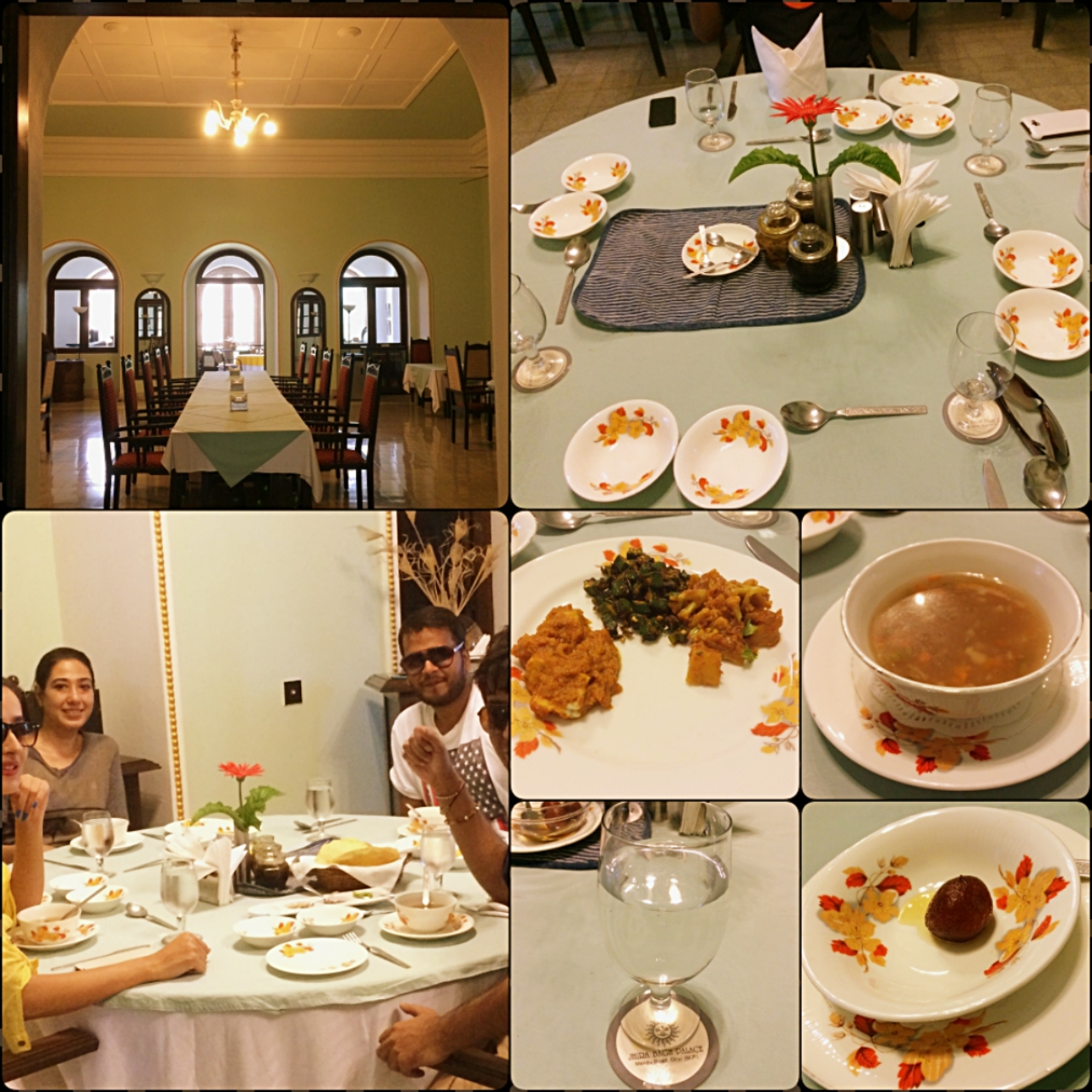 Jhira Bagh Palace Food