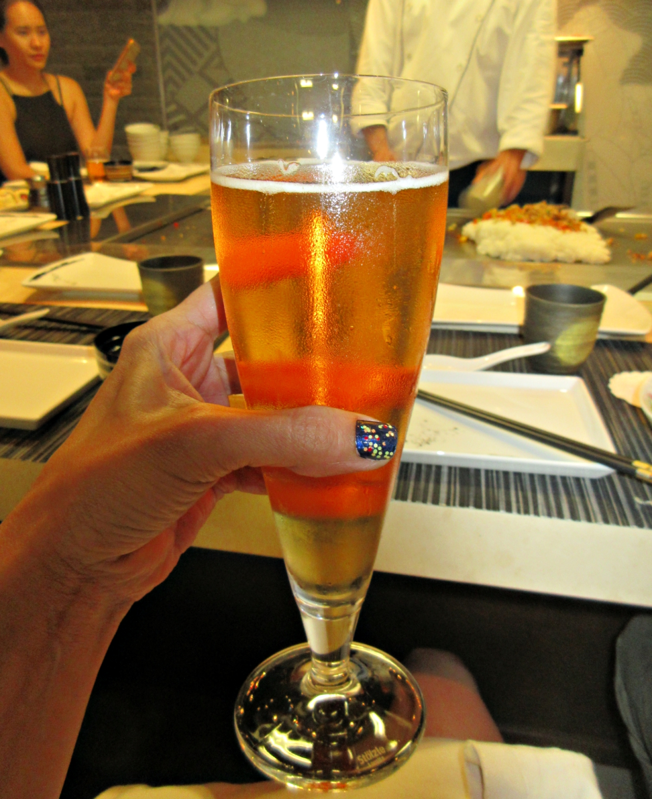 Drinking at Umi Uma