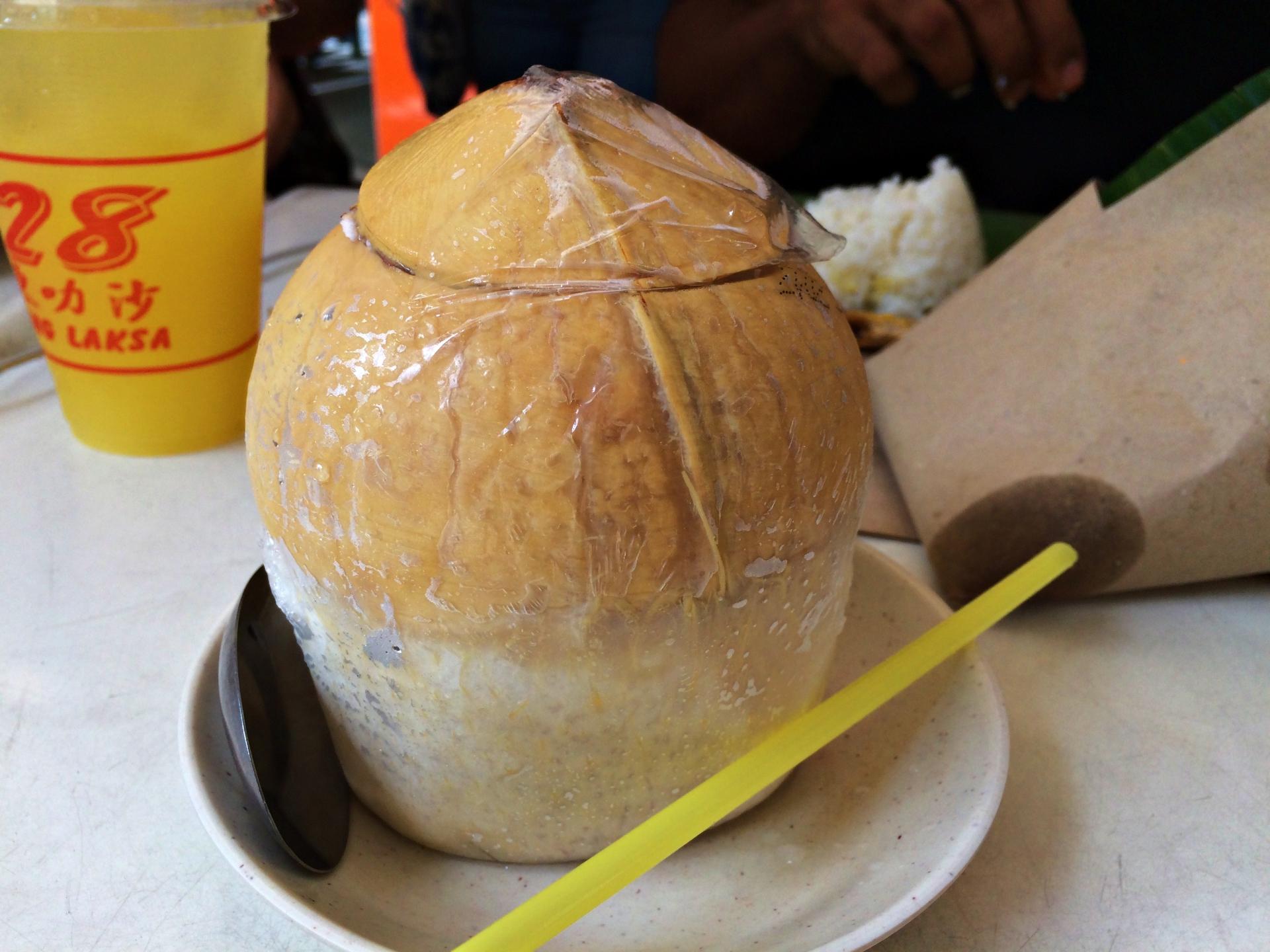 Fresh Thai Coconut 328 Katong Laksa