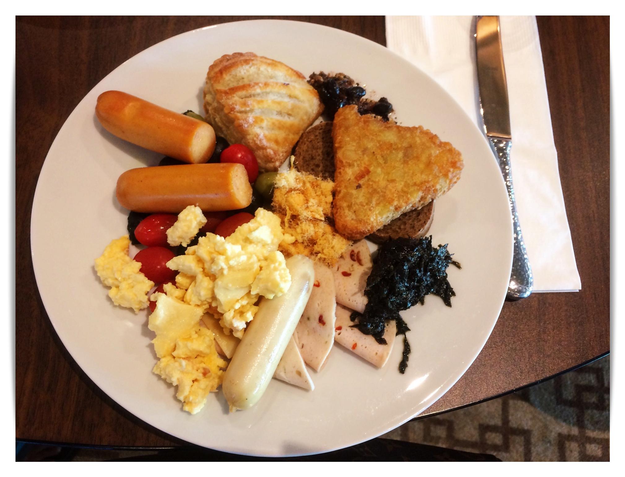 Gentring Dream Lido Breakfast