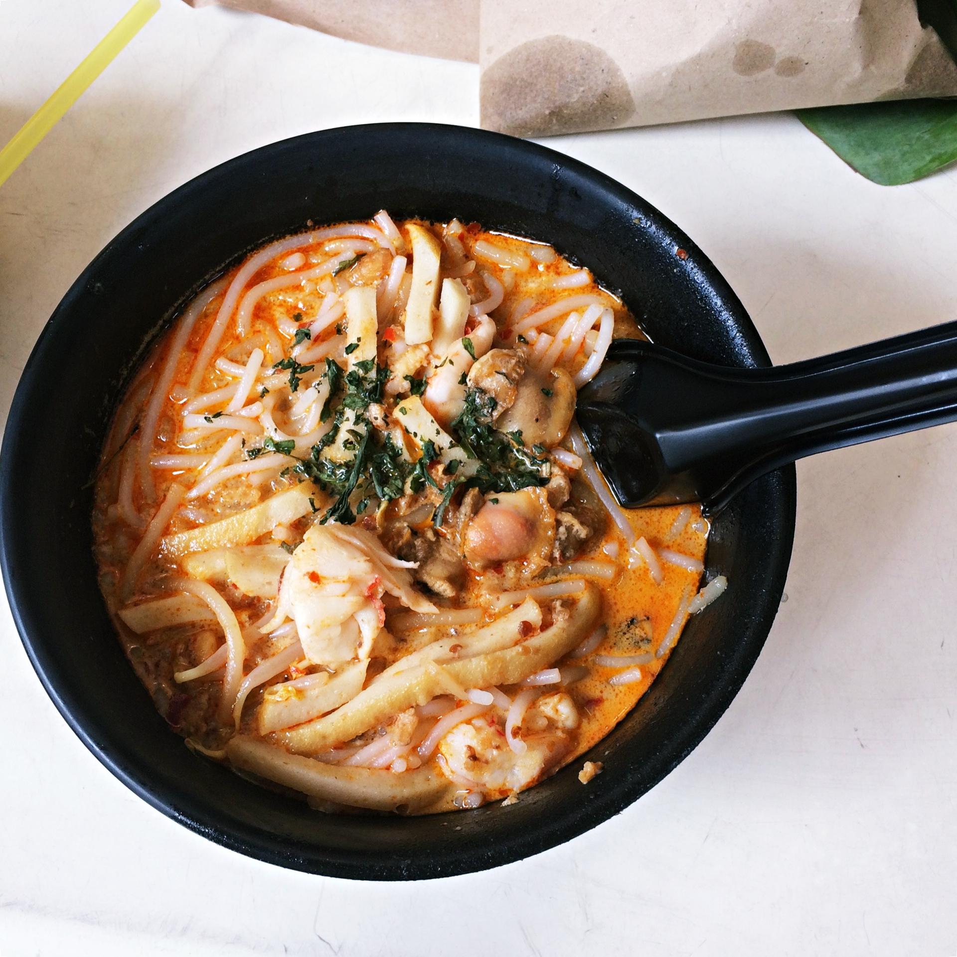 Seafood Laksa at 328 Katong Laksa