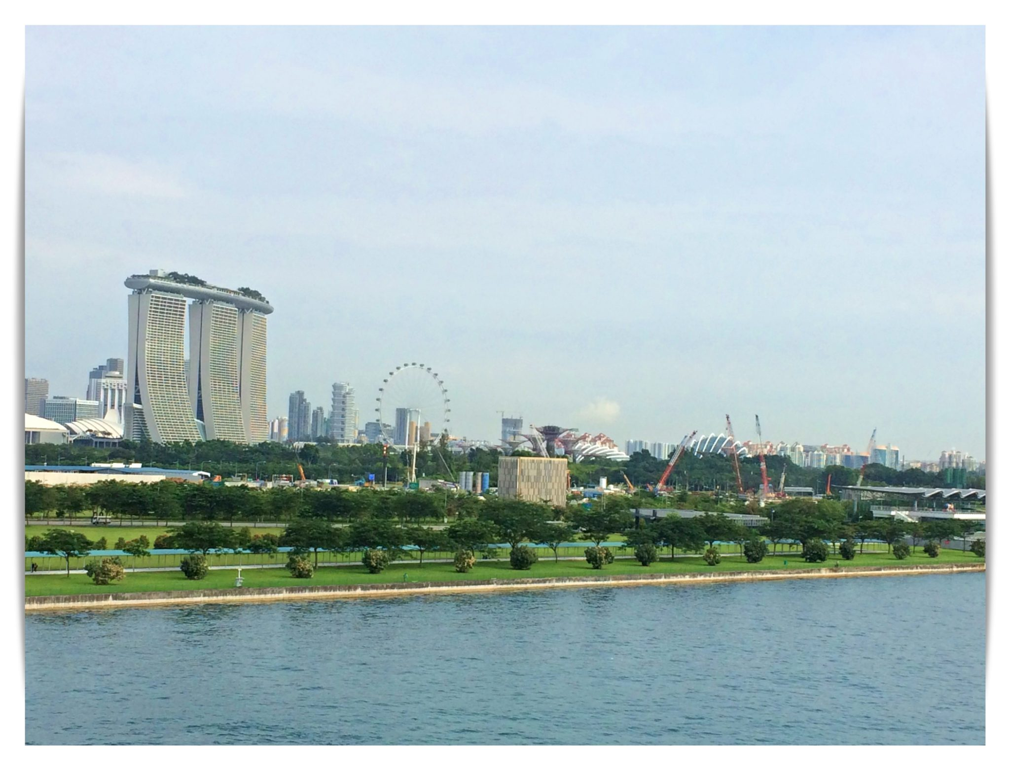 Marina Bay Sands from Genting Dream