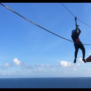 Dream Cruises Zip Lining