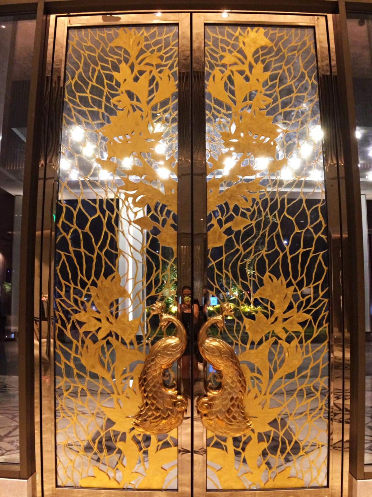 Indore Marriott Gold Lobby Door