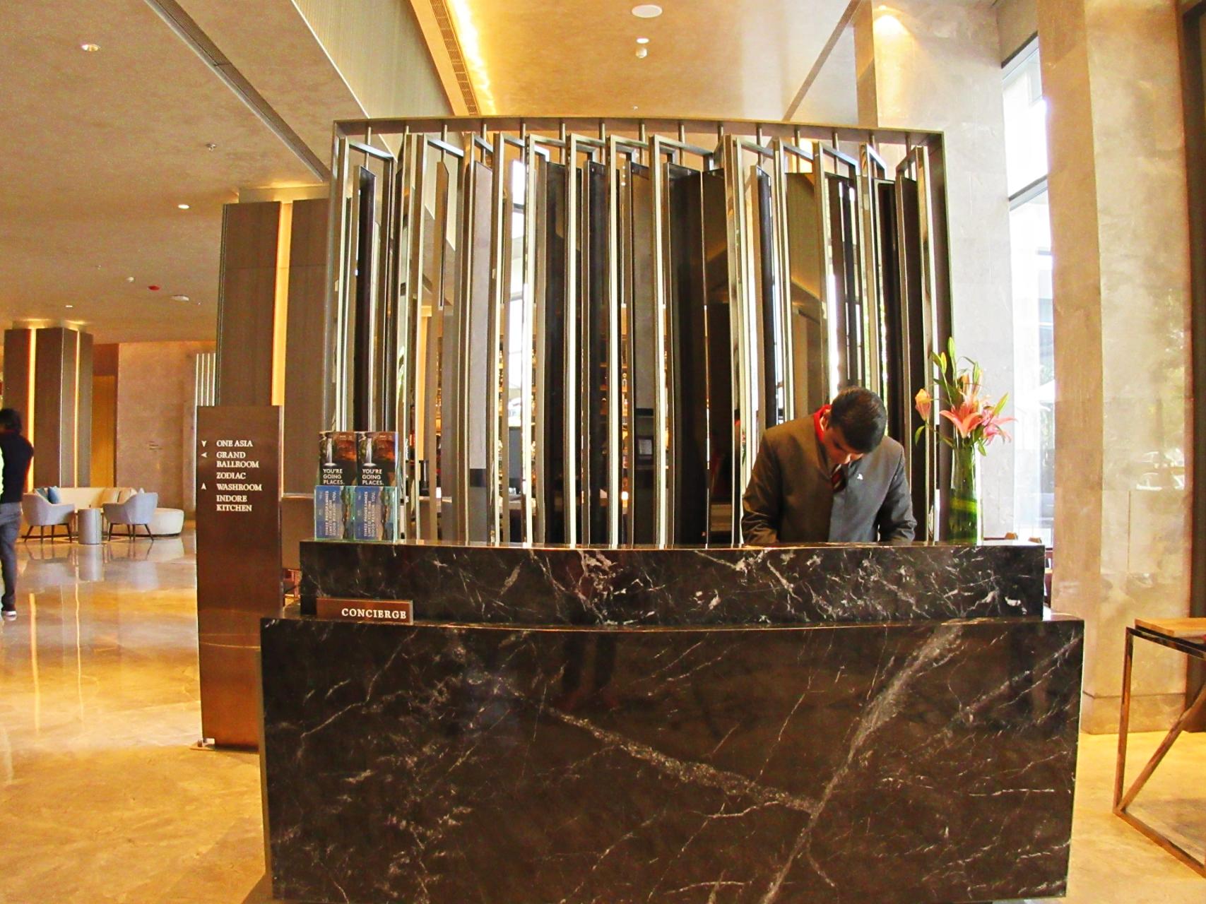Marriott Indore Concierge