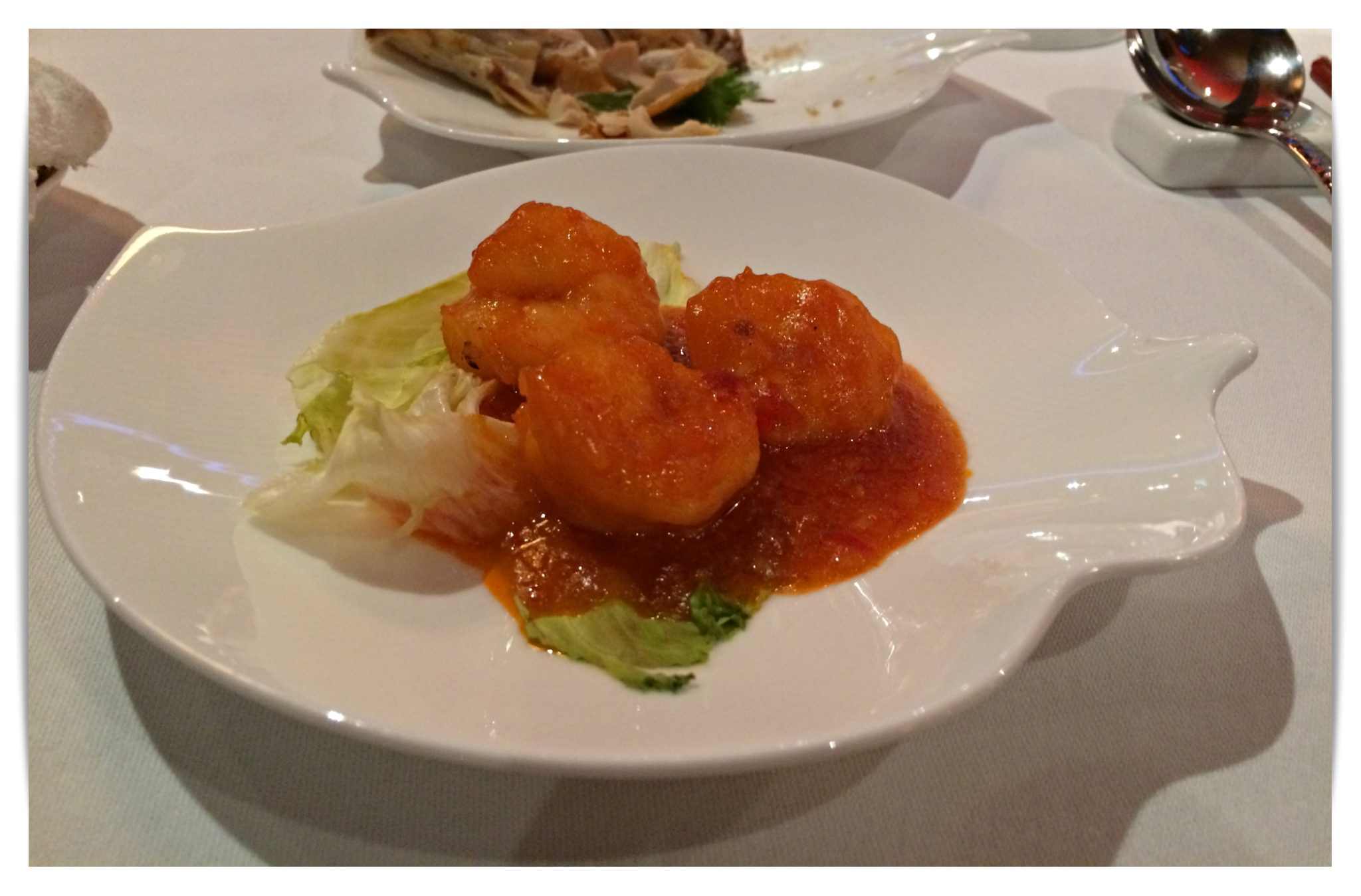 Silk Road Sauteed Prawn Meat with Chilli Sauce