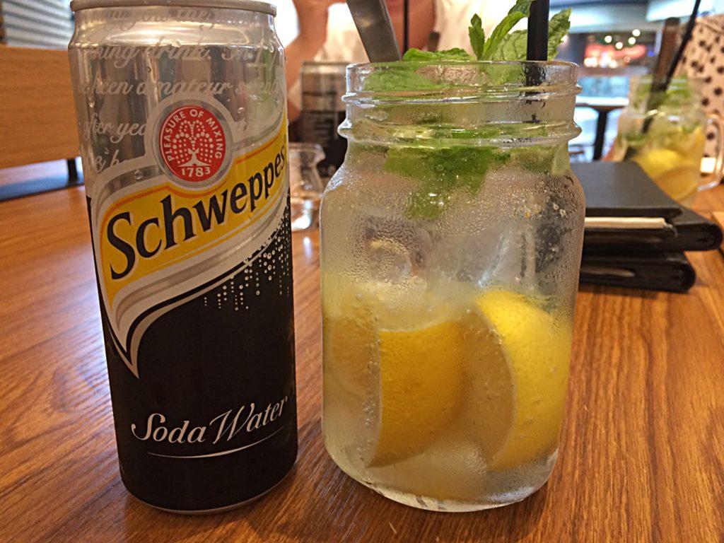Signature Sparkling Lemon Soda