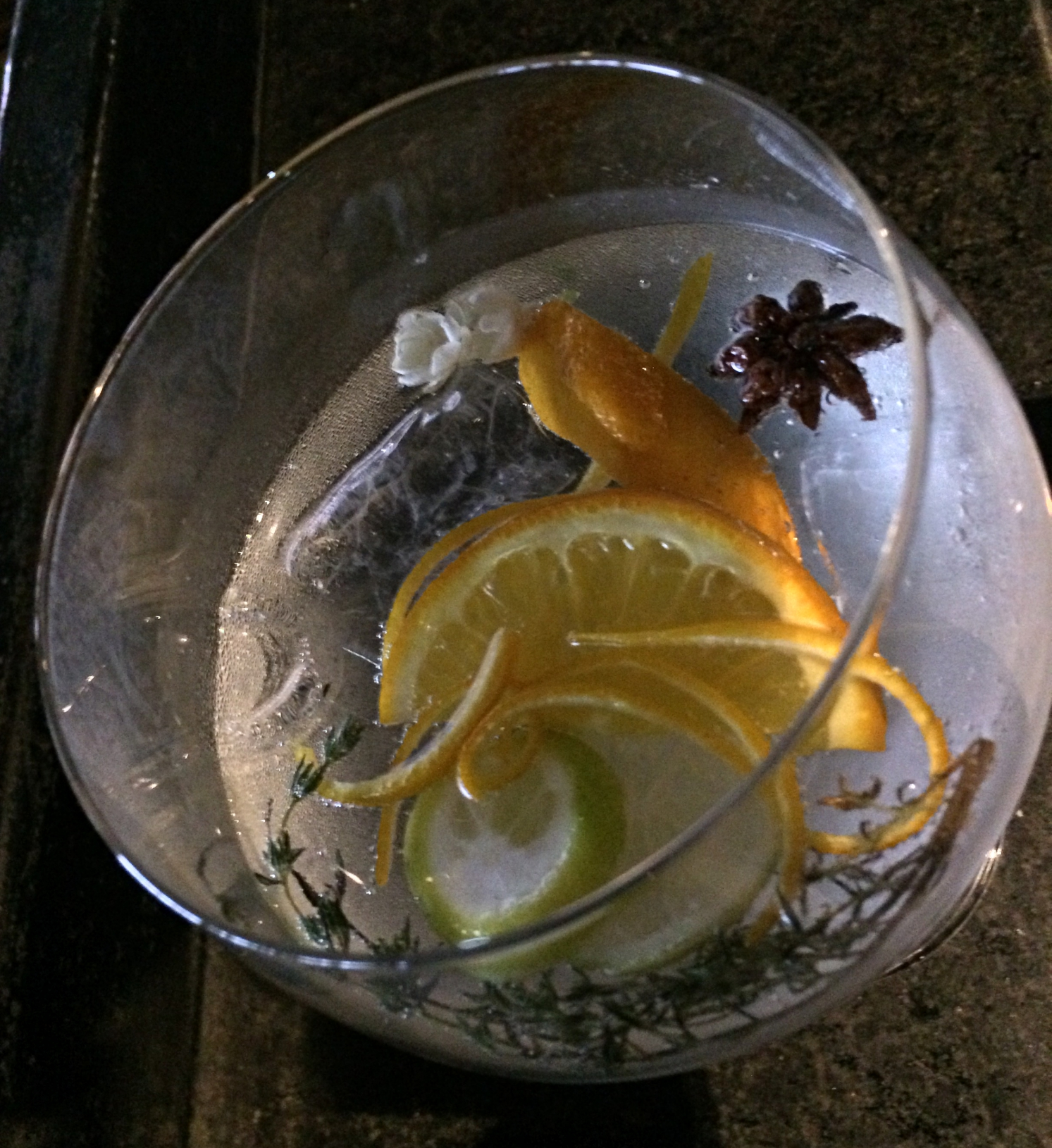 Theory Gin Cocktail