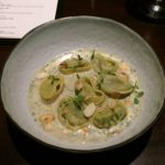 Smoked Zucchini and Almond Tortellini Theory